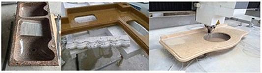 horizontal granite stone cross cutting and craving machine for sale
