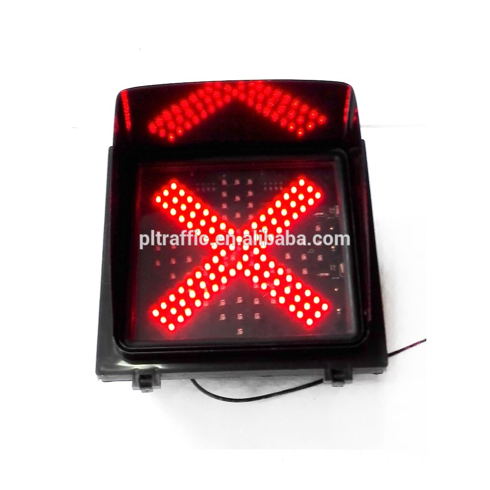 Pule 3 aspects toy traffic lights solar warning traffic light 125mm amber traffic lamp