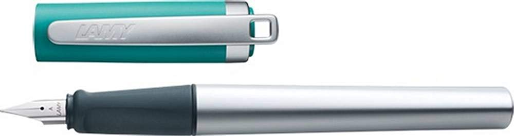 Lamy Unisex Nexx M Steel Nib Fountain Pen - Opal Green