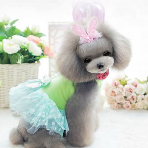 Love Beautiful Dog Wedding Dresees Summer Dresses Girl Dresses Dog Clothes Wholesale Pet Products
