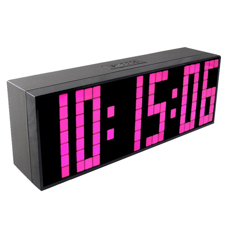 online kaufen gro handel desk wall digital led clock aus china desk wall digital led clock. Black Bedroom Furniture Sets. Home Design Ideas