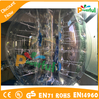new finished good quality inflatable bumper bubble ball/soccer bubble/inflatable body ball