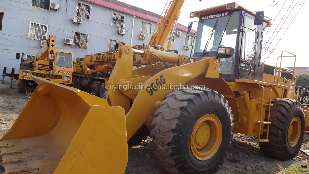 Construction Equipment Used Wheel Loader 966G For Sale, 966G Loader
