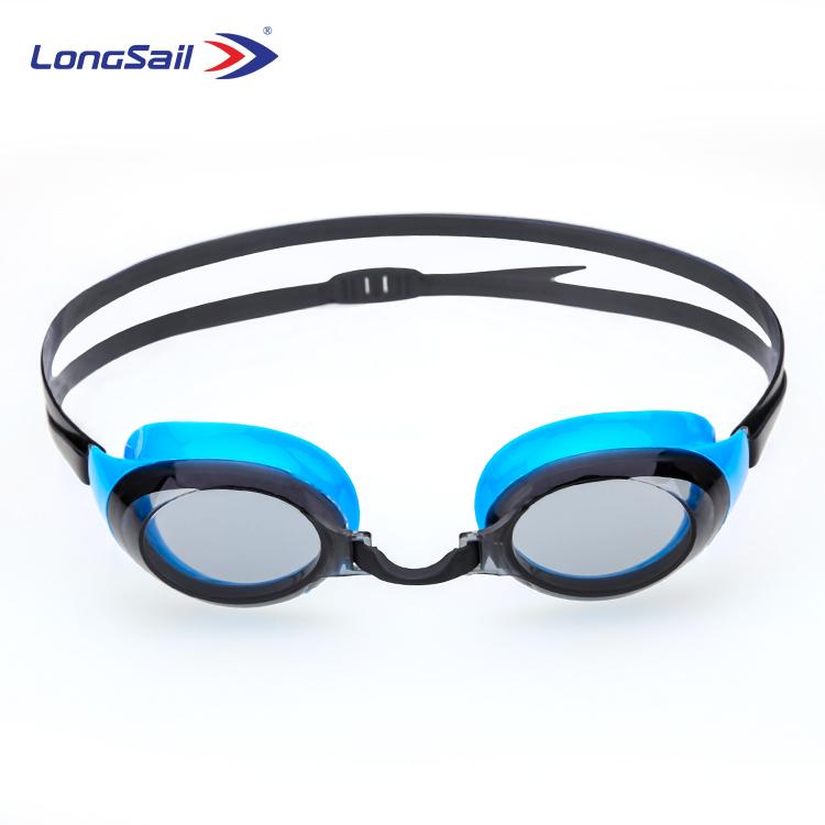 Fabrika doğrudan satış fiyatları anti sis silikon kayış yüzme gözlükleri yetişkin için