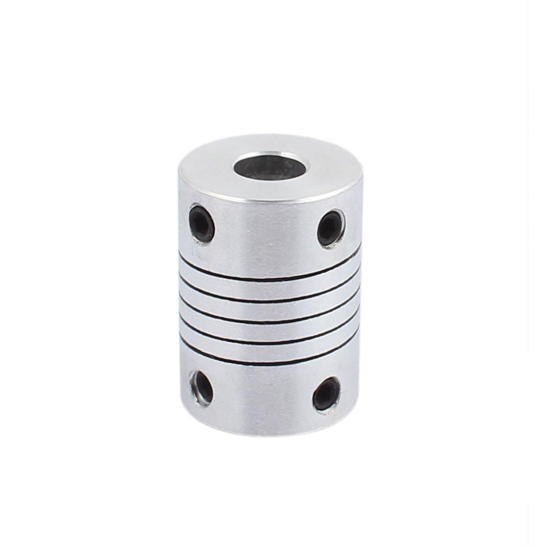 uxcell 14mm to 14mm Shaft Coupling 45mm Length 32mm Diameter Coupler Aluminum Alloy Joint Motor for 3D Printer CNC Machine DIY Encoder