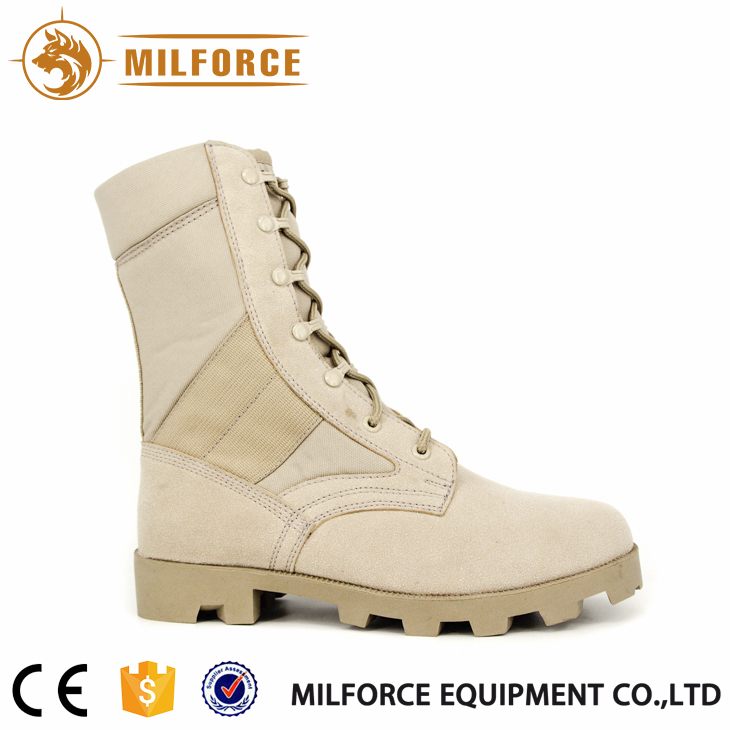 Hot selling great price yellow combat boots