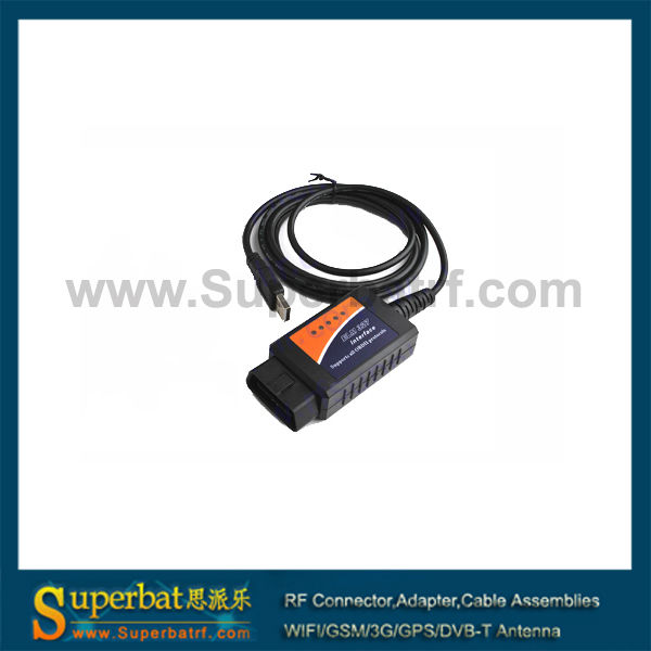 Auto Scan tool OBDII ELM327 USB Diagnostic Interface elm327 interface supports all obdii protocols