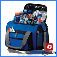 Recycled beer bottle duffel cooler bag for travel