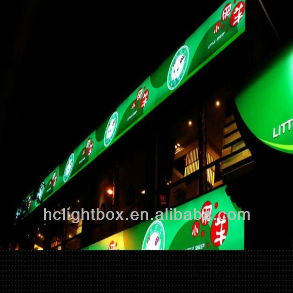 outdoor advertising shop sign / signboard design