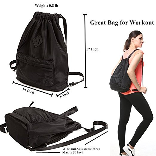 Most Popular Best Selling Promotional Polyester Waterproof Drawstring Bag