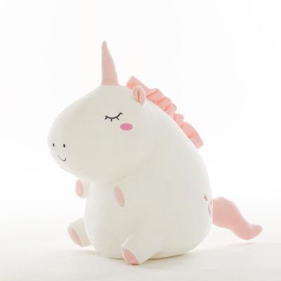 Fuyao-Trousse peluche pour fille en forme de licorne blanc