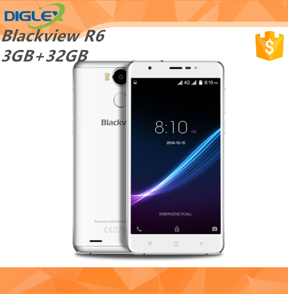 2016 launched Blackview R6 Android 6.0 MT6737 5.5inch 3G RAM 32GB ROM 4G Mobile Phone