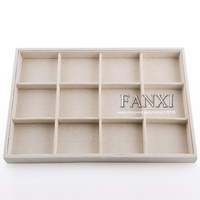FANXI Manufacture Custom presentation tray plastic jewelry display