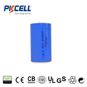 High capacity 3v cr34615 lithium battery D size 12000mAh with large current discharge