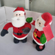 Electric Father Christmas Plush Toy Music Dancing Doll Dancing Santa Claus