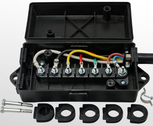 trailer wiring junction box for 7 way or 6 way trailer wiretrailer wiring junction box for 7 way or 6 way trailer wire connectors