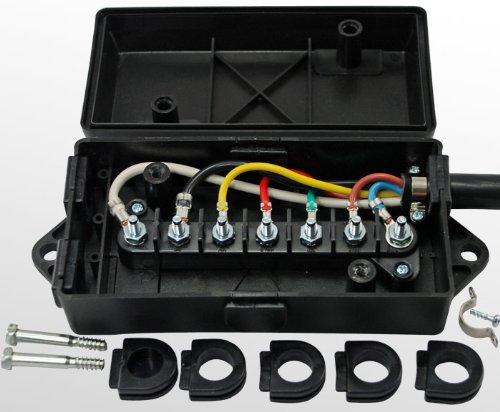 hopkins 7 blade wiring diagram trailer    wiring    junction box for    7    way or 6 way trailer  trailer    wiring    junction box for    7    way or 6 way trailer
