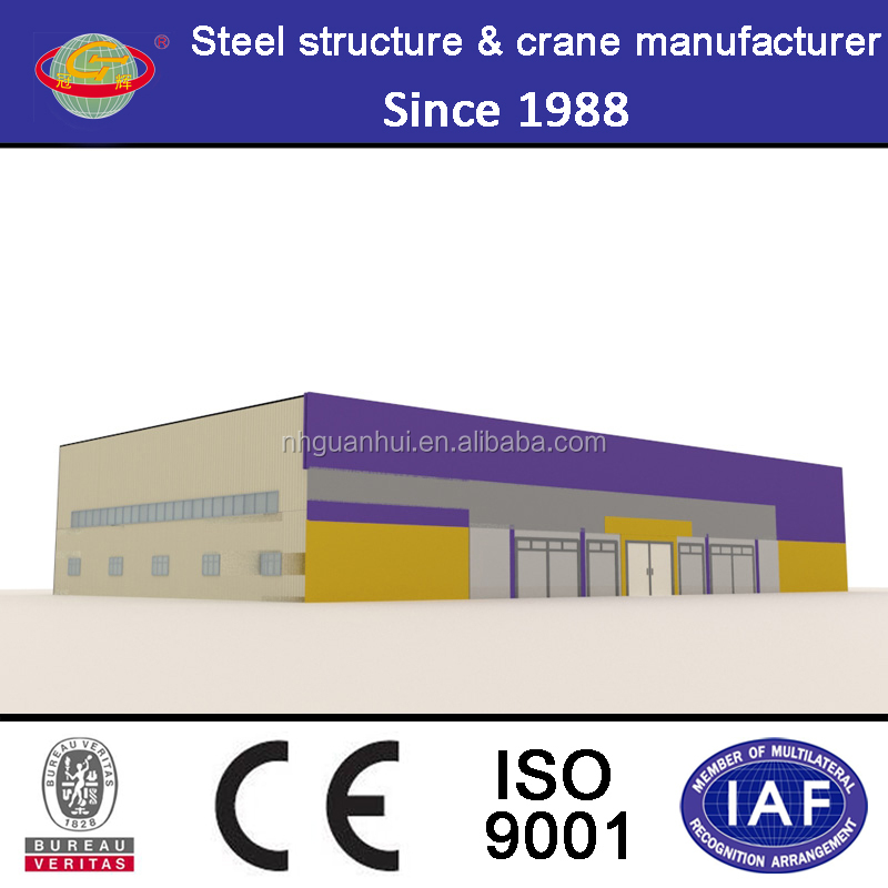 High standard anti-earthquake two storeys steel structure warehouse price