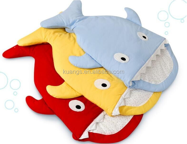 shark tail blanket sleeping bag for baby kids and adult