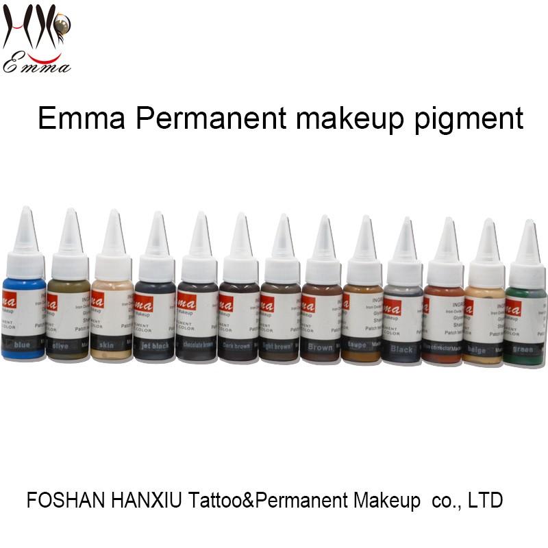 High Quality Semi Permanent Makeup Emma Tattoo Ink Msds Cosmetics