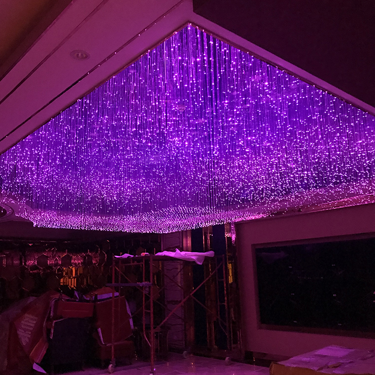 Star light ceiling led PMMA Fibre Optic sky star ceiling light, fiber optic star ceiling