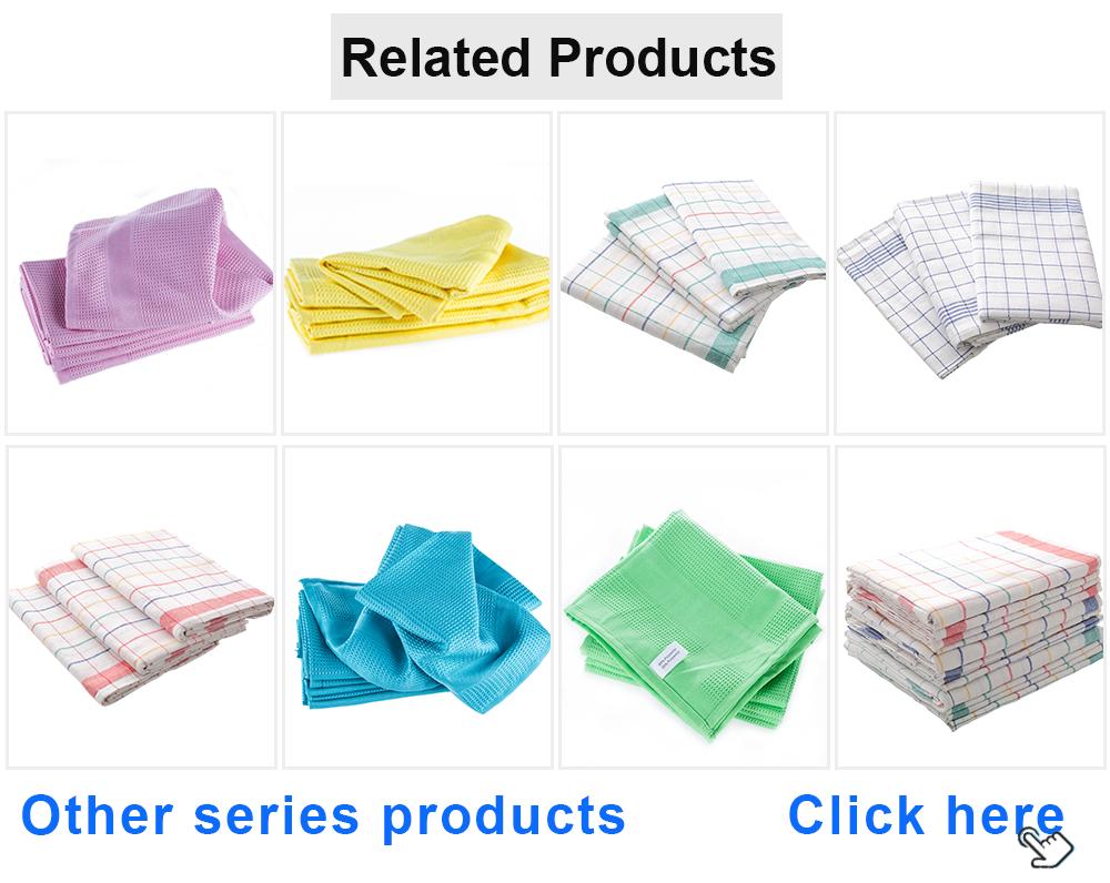 China producten home decor OEM 100% natuurlijk katoen linnen hand keuken thee handdoeken kleurrijke handdoek met sterke duurzaam vezels