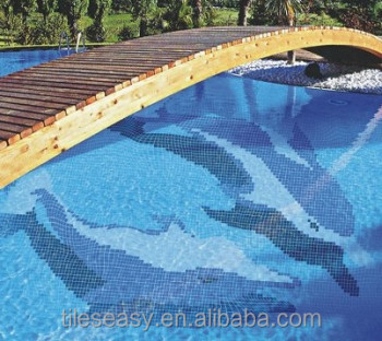 Pool design dolphin buy swimming pool tile dolphin art mosaic dolphin mosaic pattern product for Poole dolphin swimming pool prices