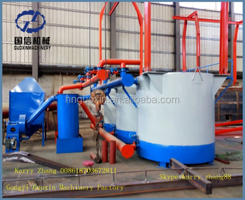 Hoisting Type Carbonization Furnace For Wood Charcoal
