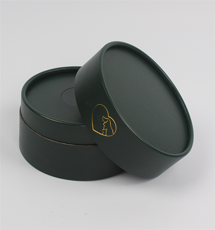Paperboard luxury round flower packaging box