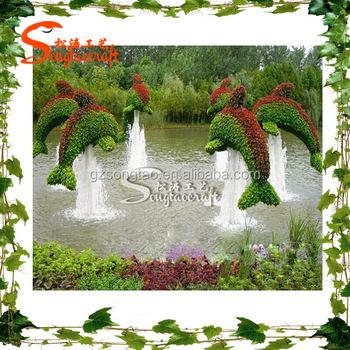 Venta Caliente Personalizada Paisaje Jardín Artificial Modelado Decoración Jardín  Paisaje Artificial Planta Animal Modelado