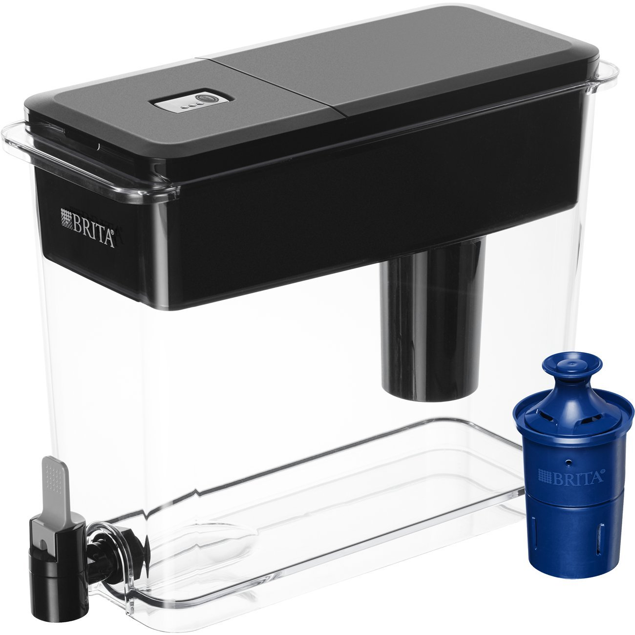 InSinkErator F-HC1100MBLK Indulge Contemporary Hot and Cold Water Dispenser Renewed Matte Black