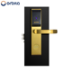 ORBITA high security electronic hotel door handle locks with cover hole plate