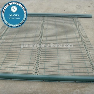 border used cheap outdoor welded wire mesh fence