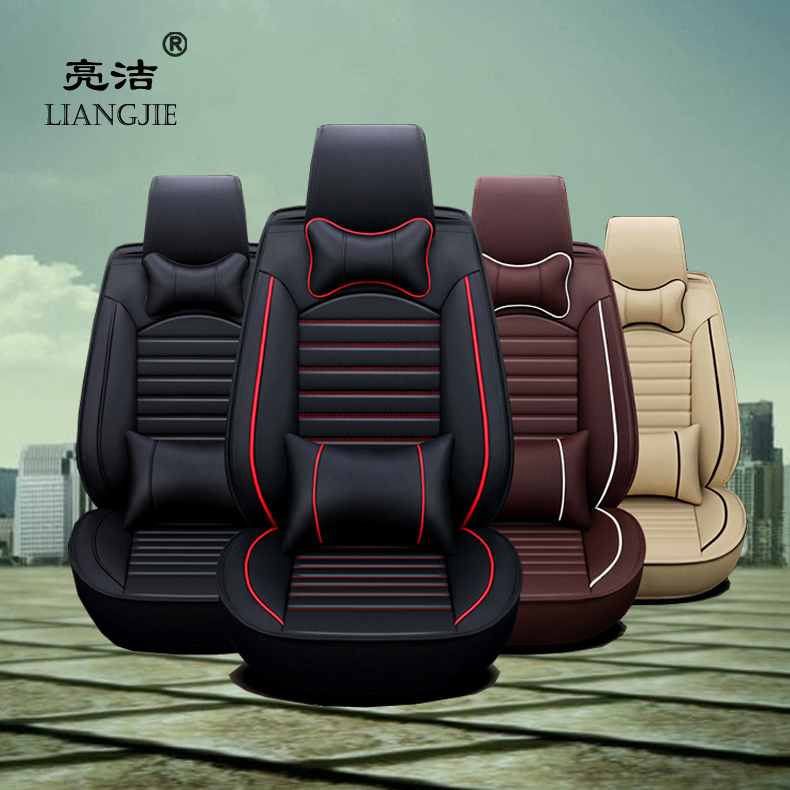 hot sale luxury waterproof universal customized leather car seat cover