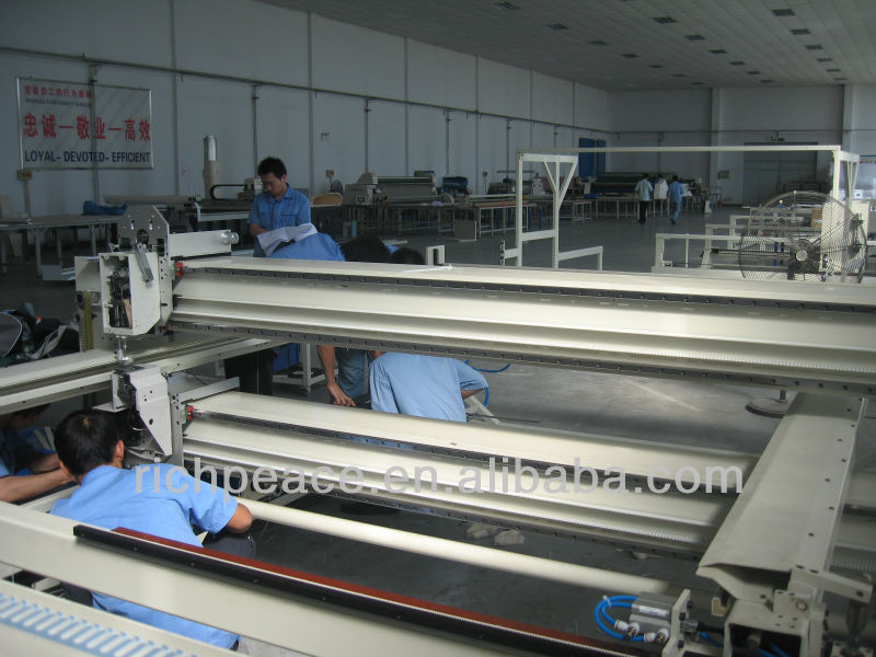 Automatic Mattress Making Quilting Machine