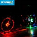 Leadbike wheel Bicycle Cycling Hubs Light Bike Front Tail Light Led Spoke Wheel Warning Light Waterproof