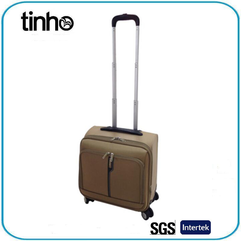 Hot selling PP EVA luggage trolley bag polyester luggage laptop case
