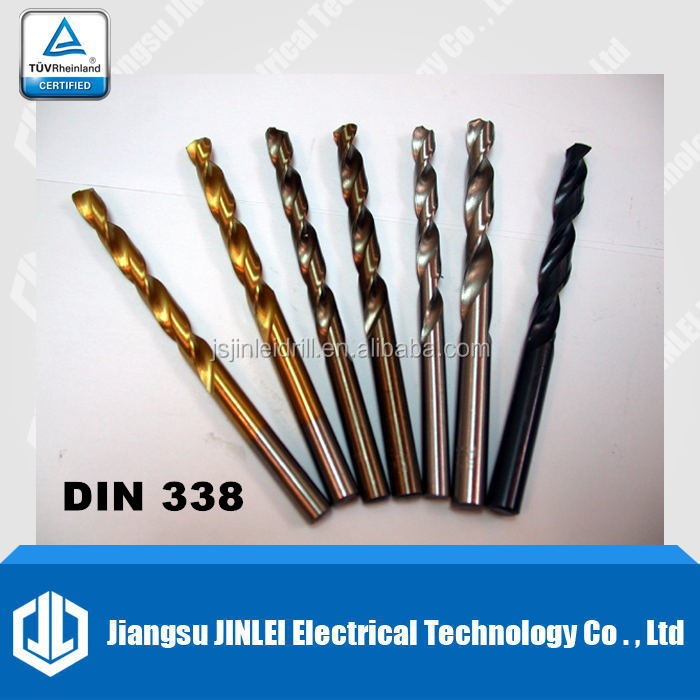german drill bit hss straight shank roll forged din 338 twist drill bit