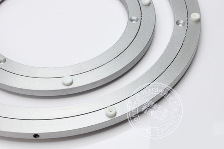 Aluminum alloy furniture turntable lazy susan swivel