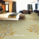 4m width broadloom nylon printed customized carpet for hotel