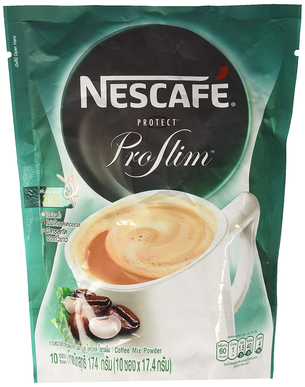 (10 sachets) Nescafe Protect Proslim Diet Slim Instant Coffee Mix