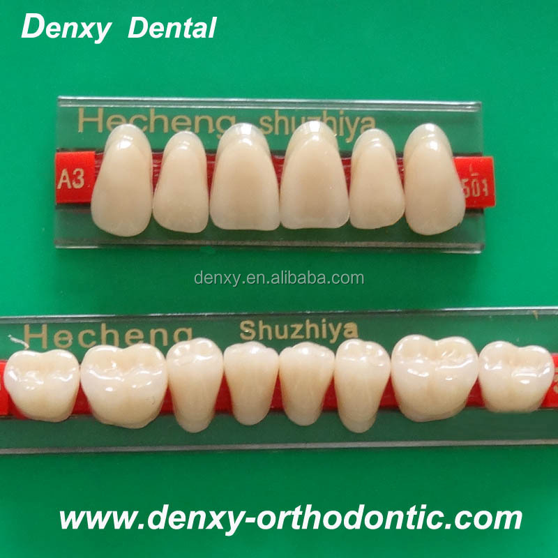 Factory Price Of Acrylic Teeth Shades /denture Teeth Shapes ...
