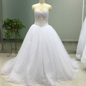 1123bbab952b Sheer Corset Wedding Dress, Sheer Corset Wedding Dress Suppliers and  Manufacturers at Alibaba.com