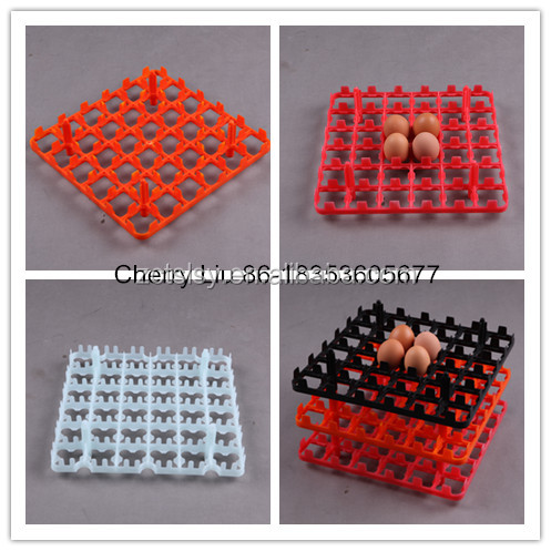 2017 china plastic chicken egg tray for incubator use