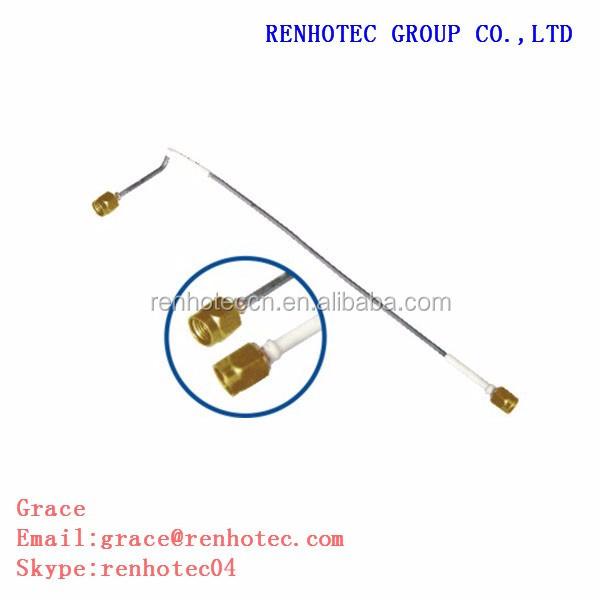 "SEMI RIGID 10/"" MICROWAVE 0.141 COAX CABLE  WITH SMA"