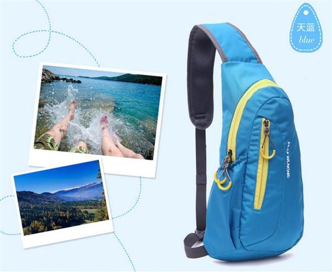 Открытый водонепроницаемый грудь сумки груди диагональ пакет посланник сумка спорт свободного покроя кроссовки открытый рюкзак Crossbody