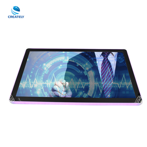 "21.5"" 23"" 27"" Ultra Thin LCD Touch Monitor USB/DVI/VGA Security LCD Touch Screen Display"