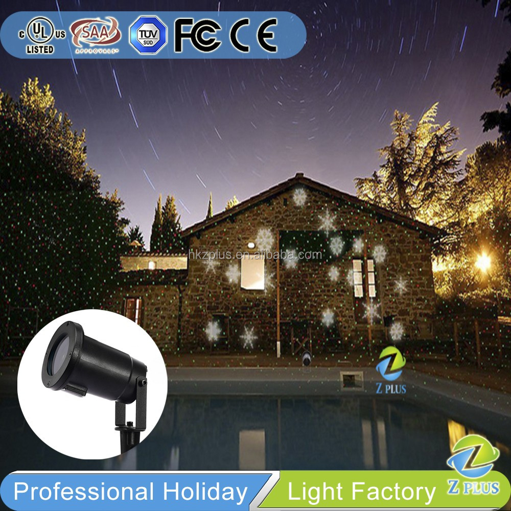 led for snowflake multi xmas moving christmas landscape color projector light dns party lighting laser itm