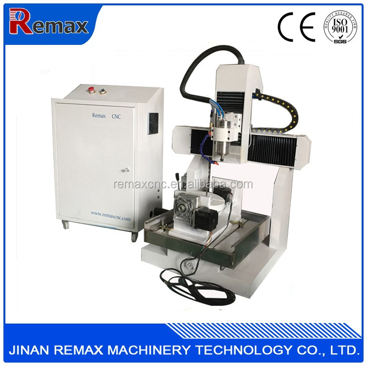 leading product remax mini cnc 5 axis milling machine 3040mini 5 axis cnc router