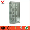 China Suppler Glass Store Mobile Phone Display Showcase With Hooks